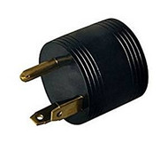 Round Adapter 30A Male 15A Female