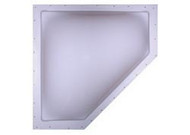 Neo Skylight, 24 x 12, 27 x 14, White