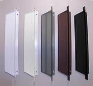 Screen Door Handle, White