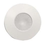 Halogen Light w/ Mounting Collar, White