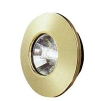 Halogen Light, Brass w/ Mounting Collar