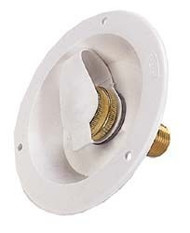 City Water Flange Rubber Dust Plug, Polar White
