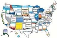 Stick On States License Plate Version