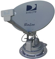 Winegard Satellite TV Antenna Trav'Ler Slimline - White