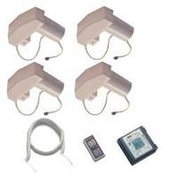 Happijac Acme Screw Jack Electric Motor Drive Kit w/ Remote Gage Wire