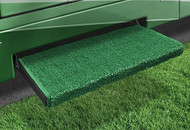 Jumbo Wraparound +Plus Step Rug, Green