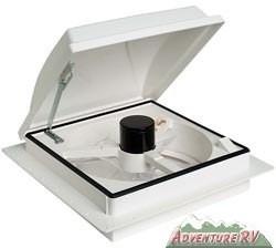 Shurflo Comfort Air Platinum Rv Vent Fan White