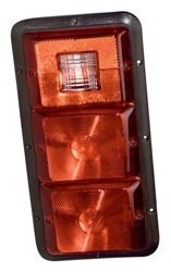 #84 Series Recessed Taillight, Triple Vert.