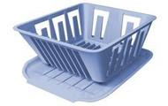 Mini Dish Drainer, Slate Blue