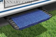 Wraparound RV Step Rug, Blue