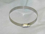 """Hose Clamp, Stainless, 3/8"""" - 7/8"""""""