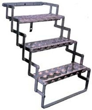 "Hijacker Scissor Steps, 3 Step, 26"" Triple"