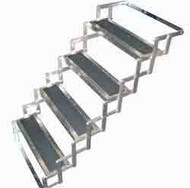 "Hijacker Scissor Steps, 4 Step 33"" Quadruple"