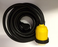 Power Cord w/ Locking Connector, 25', 30 Amp