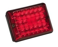 #86 LED Stop/Turn/Taillight w/ Black Case