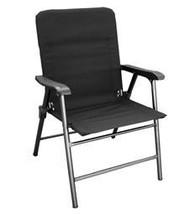 Elite Folding Chair, Black