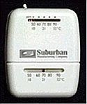 Suburban Furnace Wall Thermostat, Black
