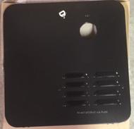 Girard Tankless LP Water Heater Door, Black