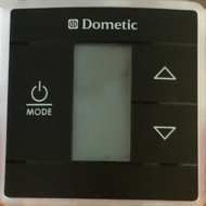 Dometic Single Zone Cool/Furnace/Heat Pump LCD Digital Thermostat, Black