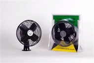 12 Volt 2-Speed Heavy Duty Fan, Black