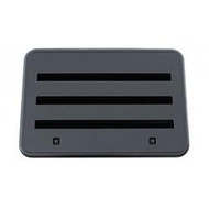 Norcold Refrigerator Access Door Panel Vent, Exterior, Black