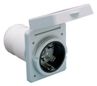 Cynder 50 Amp Easy Twist Lock Inlet - RV/Marine