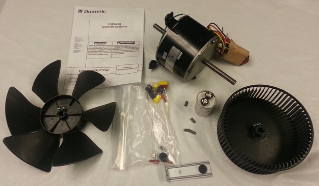 Dometic Brisk Air Conditioner Replacement Motor Kit