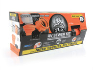 Camco RhinoFlex Sewer Hose Kit - 15ft