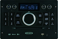 Jensen Wall MountStereo - AM/FM/DVD/CD/USB Bluetooth Stereo with App Control