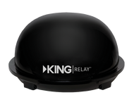 Kings Control King Relay Portable Domed Antenna - Refurbished - Black