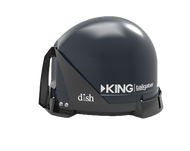 King Controls Tailgater Automatic Portable Satellite Antenna - Dual Output