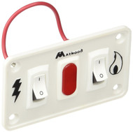 Atwood Water Heater Dual Panel Switch Kit -Gas/Electric