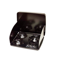 Atwood Wedgewood Vision Cooktop - Drop-In, 3 Burner, Black Top
