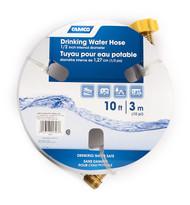 "Camco TastePURE 10' Drinking Water Hose, 1/2"" ID"