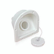 Camco Fresh Water RV Recessed Water Fill A-45-C  - Polar White