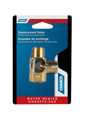 Camco Water Heater Winterizing Supreme By-Pass 3-Way Valve