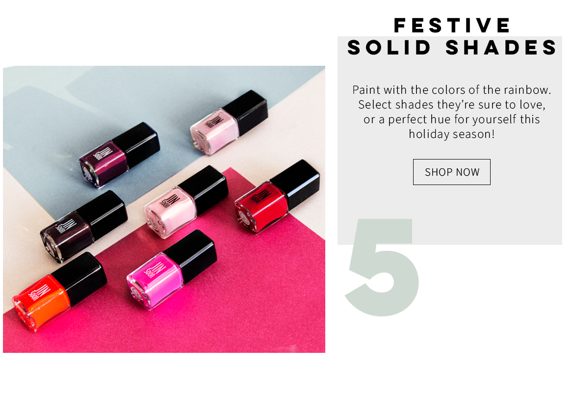 Festive Solid Shades