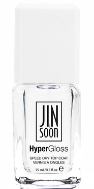 HyperGloss (the ultimate high gloss quick dry top coat): Gel-like high shine, Ultra Fast Dry,  UV-Absorbing,  Infused with Healthful Nutrients  Hyper Gloss bottle photo