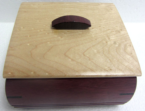 Ring Box by Mike Mikutowski - Birdseye Maple