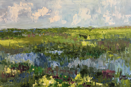 """""""Reflections of Summer"""" by Dawn Reinfeld 24x36"""