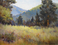 """Hallowell Park, Rocky Mountain National Park"" by Margaret Jensen 8x10"