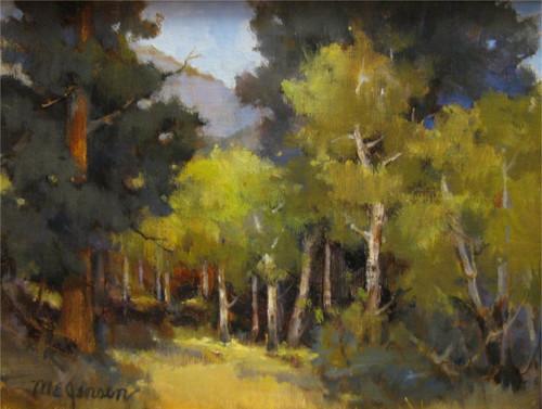 """""""Upper Beaver Meadow"""" by Margaret Jensen 9x12"""