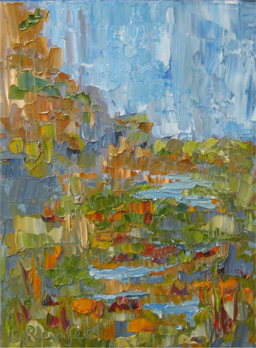 """Desert Terrace"" Dawn Reinfeld 9x12"