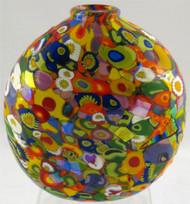 """Disk Vase in Everything"" by Michael Maddy & Rina Fehrensen, Mad Art Studio"