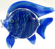 """Small Fish in Blue Rainbow"" by Michael Maddy & Rina Fehrensen, Mad Art Studio"