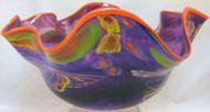 """""""Orb Shell in Purple, Orange Lip"""" by Rollin Karg"""