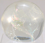 """Big Crystal Lite Paperweight"" by Rollin Karg"