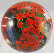 """""""Red Rose Garden Paperweight"""" by Shawn Messenger"""