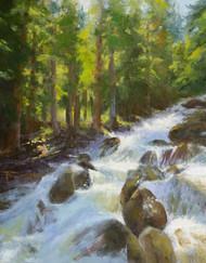 """Calypso Cascades"" by Terri Sanchez 11x14"