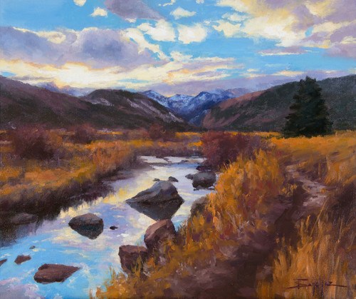 """""""End Of Day Reflections"""" by Terri Sanchez 20x24"""